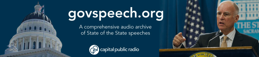 Govspeech.org - A comprehensive audio archive of State of the State speeches